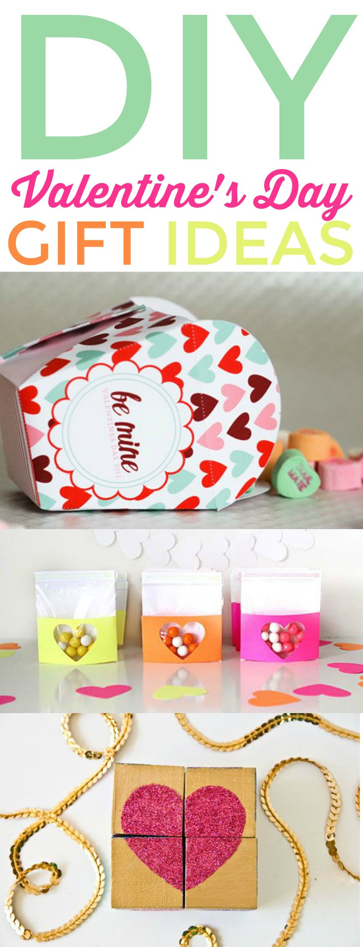 Diy Valentines Gift Ideas  DIY Valentines Day Gift Ideas A Little Craft In Your Day