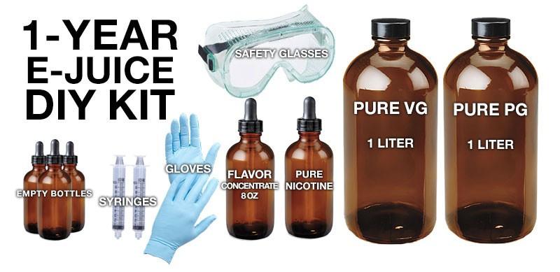 DIY Vape Juice Kits  DIY E Juice Kit Type 3