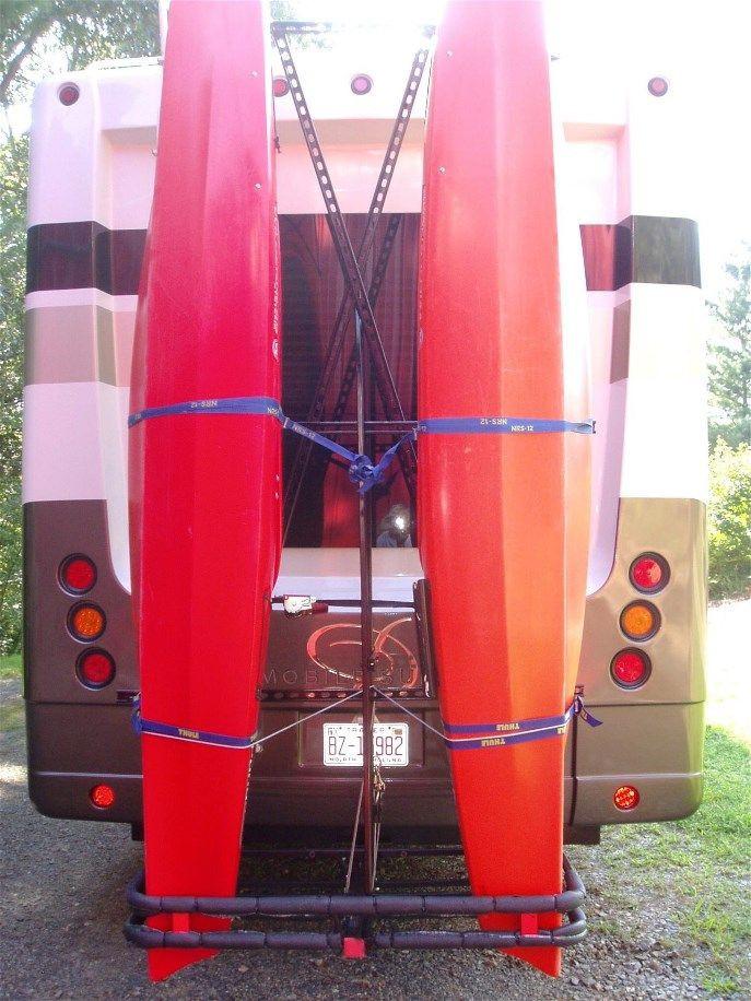 DIY Vertical Kayak Rack For Rv  22 best images about Kayak Stuff on Pinterest