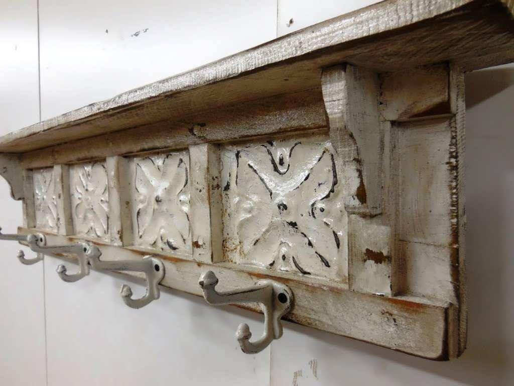 DIY Wall Mounted Coat Rack With Shelf  Woodworking Series Diy Coat Rack Bench