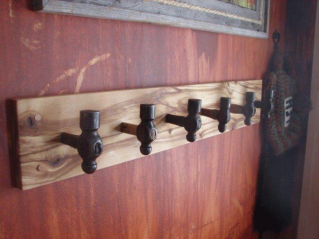 DIY Wall Mounted Coat Rack With Shelf  Easy DIY Tips on Building Your Own Coat Racks Decor