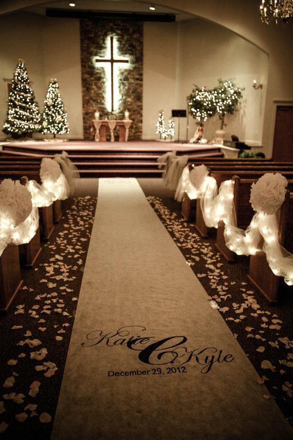 DIY Wedding Pew Decorations  Unavailable Listing on Etsy