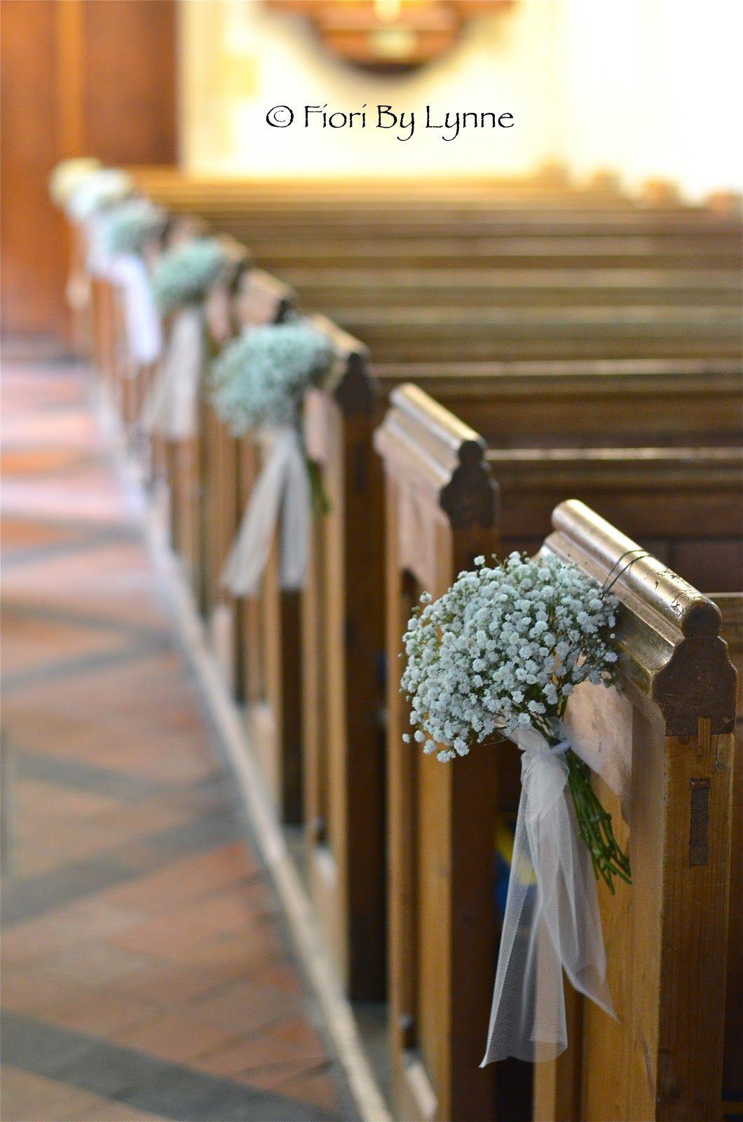 DIY Wedding Pew Decorations  Pew Ends on Pinterest