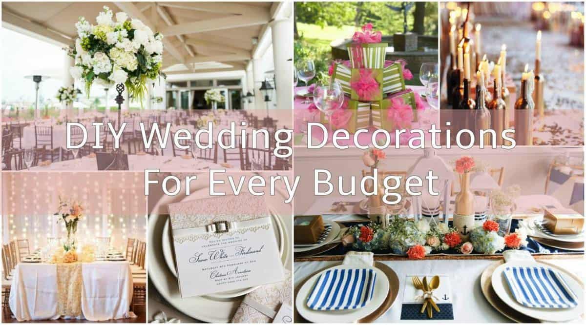 DIY Wedding Reception Decorations  DIY Wedding Decorations For Every Bud Inspired Bride