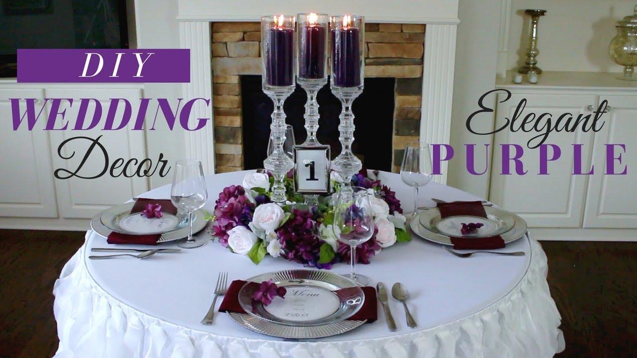 DIY Wedding Reception Decorations  Elegant DIY Wedding Centerpieces