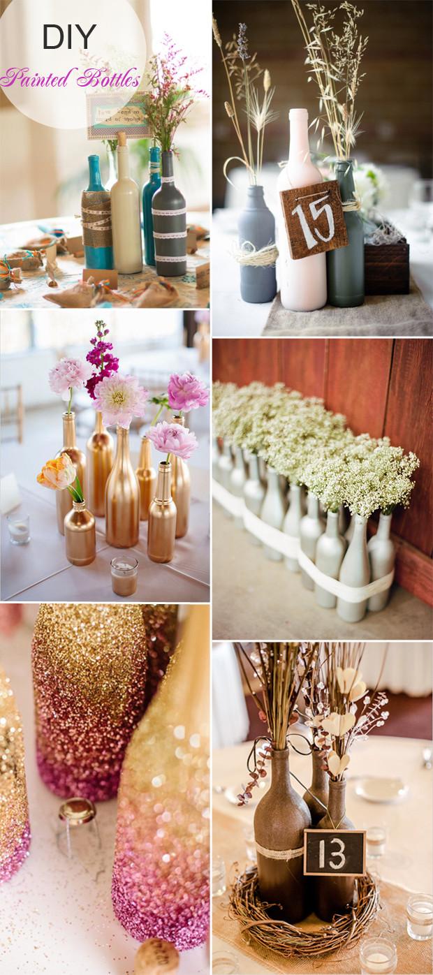DIY Wedding Reception Decorations  40 DIY Wedding Centerpieces Ideas for Your Reception