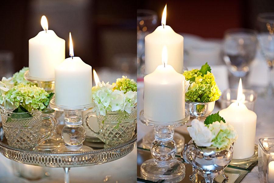 DIY Wedding Reception Decorations  Kadee s blog Alot of the wedding reception table