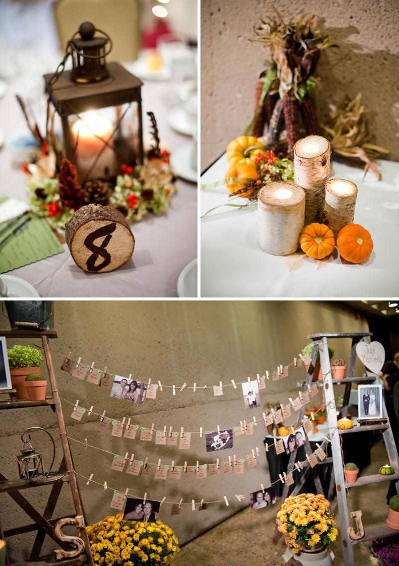 DIY Wedding Reception Decorations  Rustic DIY Fall Wedding Every Last Detail