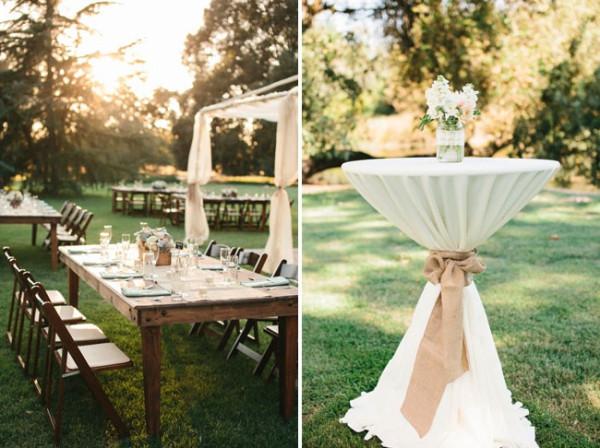 DIY Wedding Reception Decorations  DIY Backyard Wedding Ideas 2014 Wedding Trends Part 2