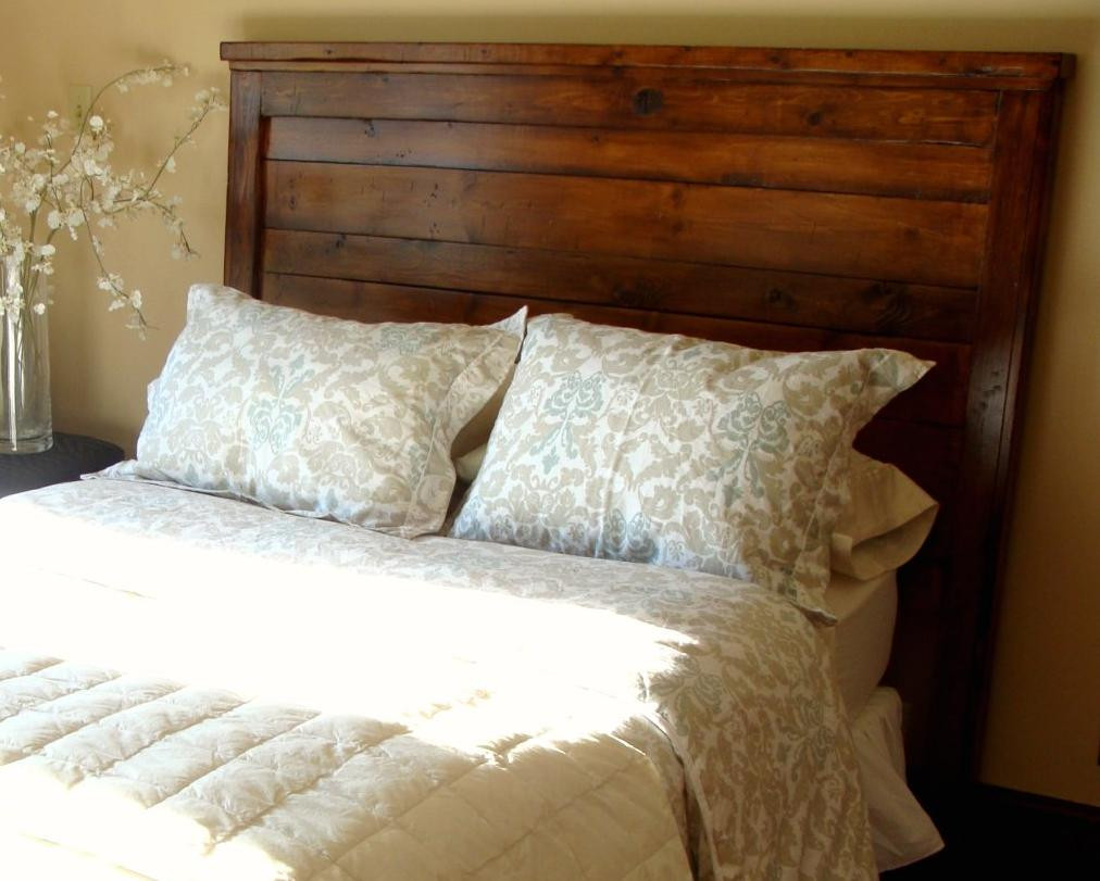 DIY Wood King Headboard  Hodge Podge Lodge The search for a headboard