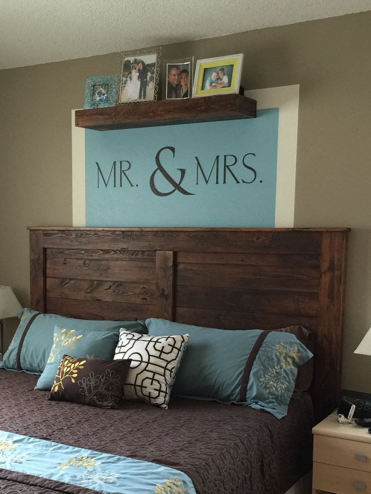 DIY Wood King Headboard  Best 25 King size headboard ideas on Pinterest