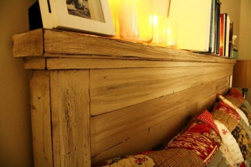 DIY Wood King Headboard  Ana White