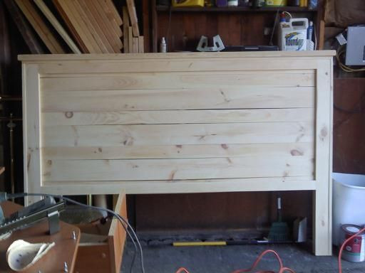 DIY Wood King Headboard  Best 25 Beach headboard ideas on Pinterest