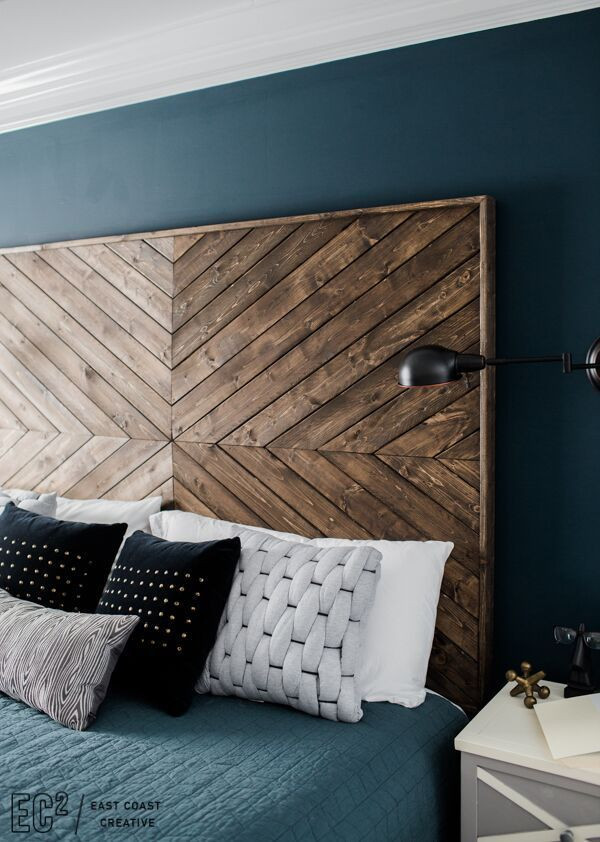 DIY Wood King Headboard  Best 25 Diy headboard wood ideas on Pinterest