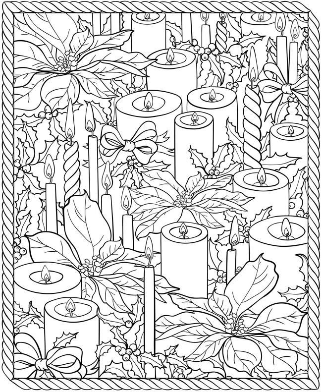 Dover Coloring Books For Adults  304 best images about Coloring pages for adults and