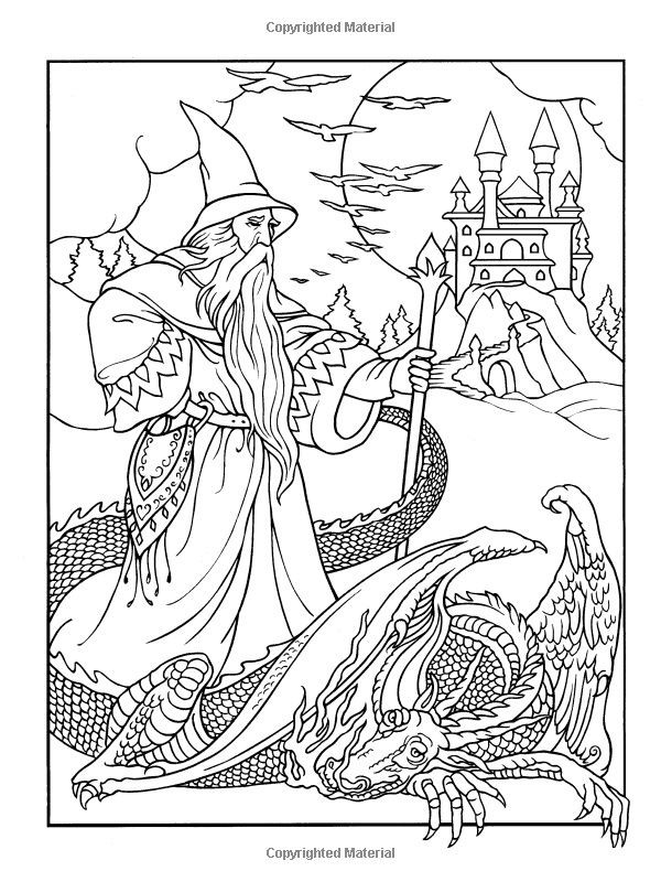 Dover Coloring Books For Adults  339 best images about Colouring pages on Pinterest