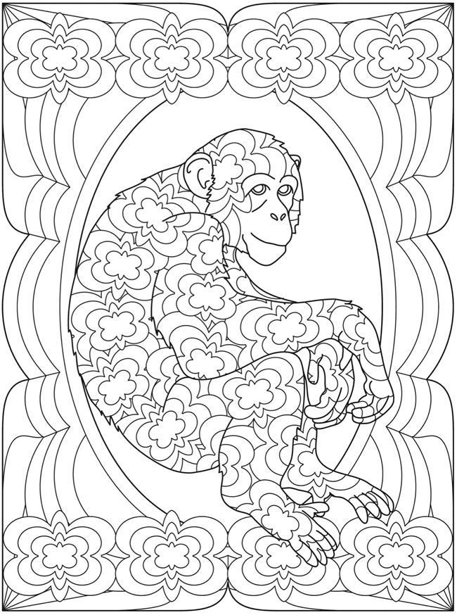 Dover Coloring Books For Adults  dover coloring pages printable