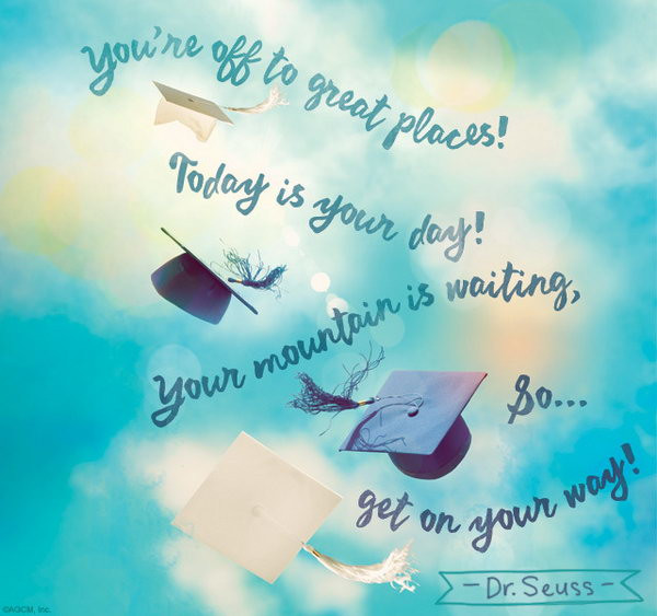 Dr Seuss Graduation Quotes  25 Inspirational Graduation Quotes Hative