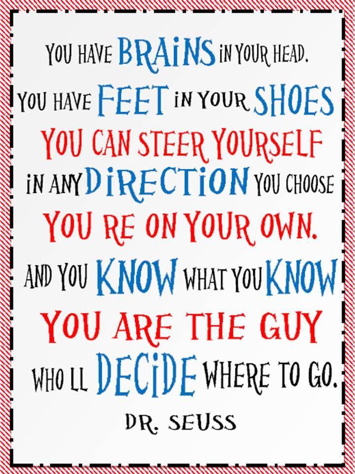 Dr Seuss Graduation Quotes  dr seuss quotes drseuss africanlionsafari