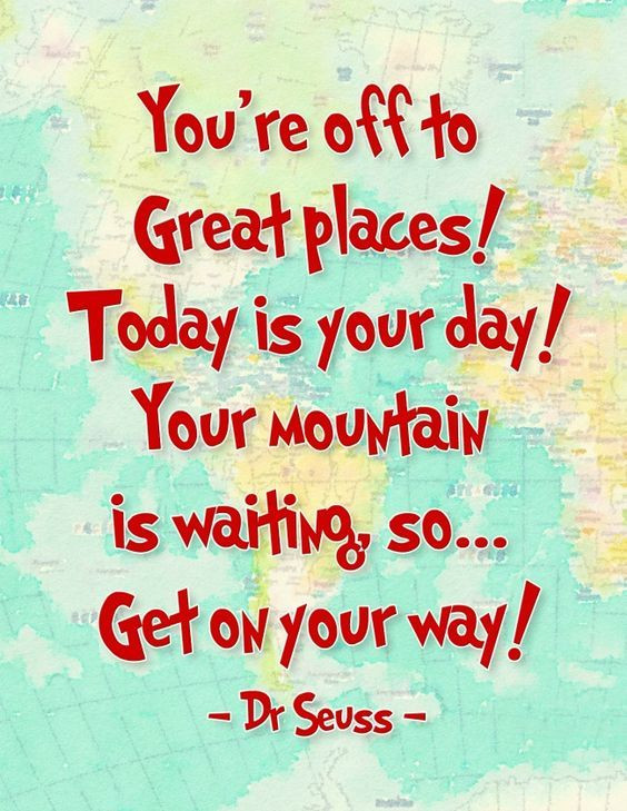 Dr Seuss Graduation Quotes  f To Great Places Short Graduation Greeting Quotes Tap