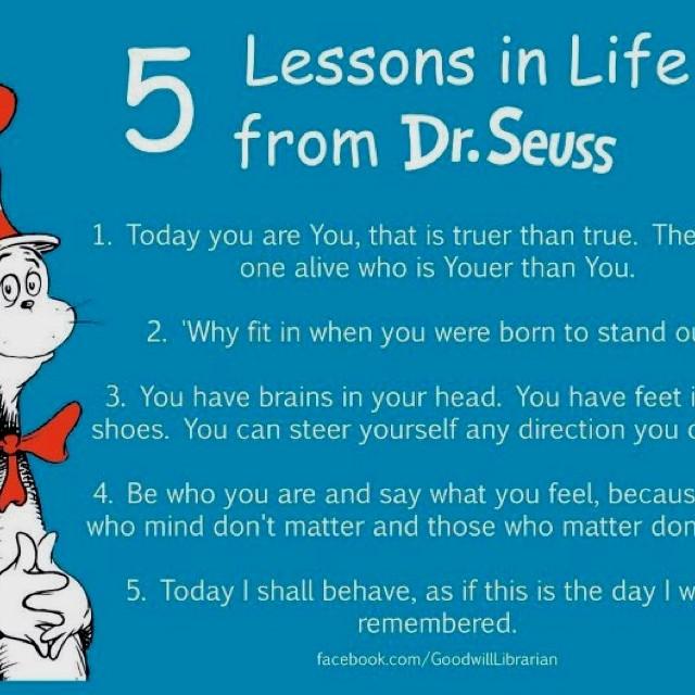 Dr Seuss Graduation Quotes  Dr Seuss sayings Graduation Pinterest