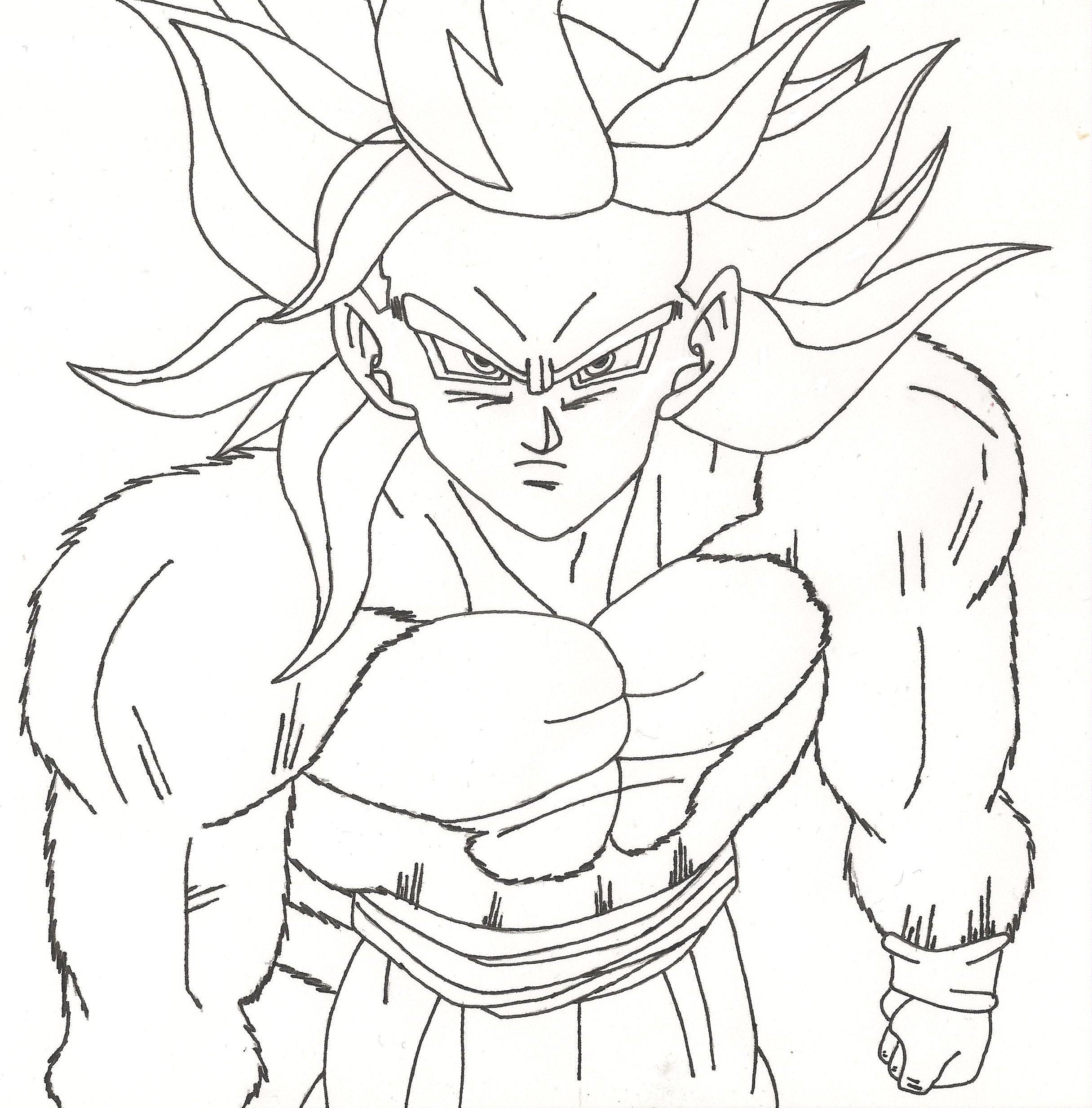 Dragon Ball Z Coloring Pages Printable  Ausmalbilder für Kinder Malvorlagen und malbuch • Dragon