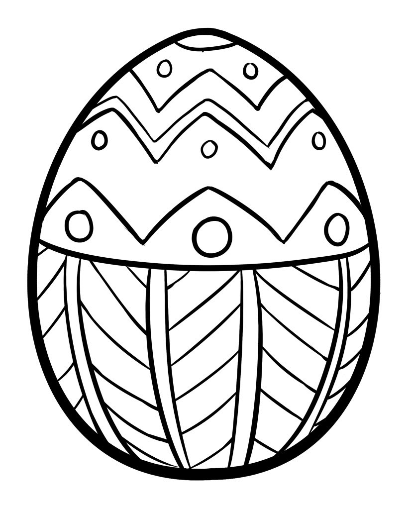 Easter Egg Coloring Pages For Toddlers  Easter Coloring Pages Best Coloring Pages For Kids
