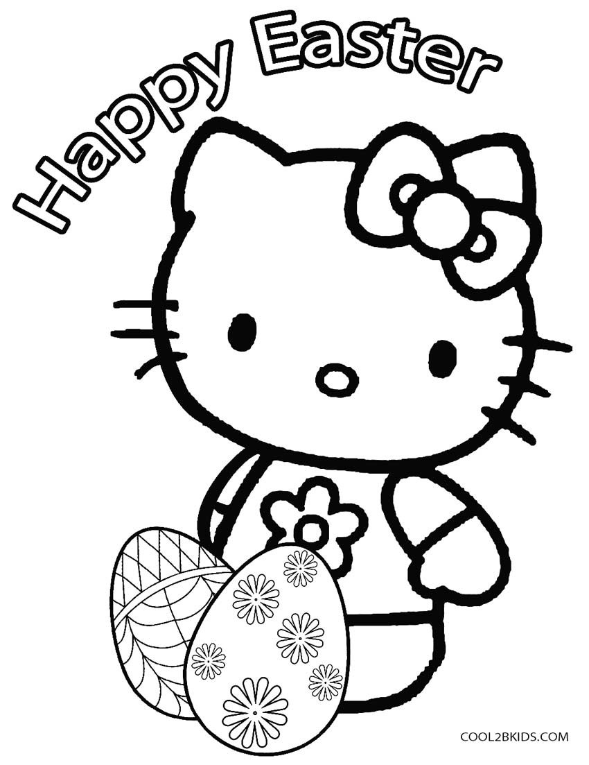 Easter Egg Coloring Pages For Toddlers  Printable Easter Egg Coloring Pages For Kids
