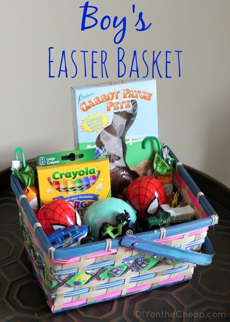 Easter Gift Ideas For Boys  Boy s Easter Basket Ideas Erin Spain
