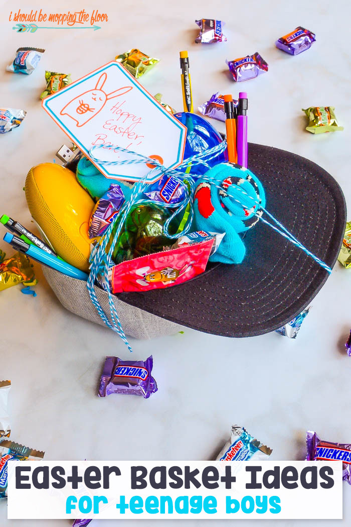 Easter Gift Ideas For Boys  i should be mopping the floor Easter Basket Ideas for