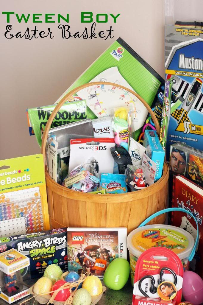 Easter Gift Ideas For Boys  13 Easter Basket Filler Ideas easter ideas