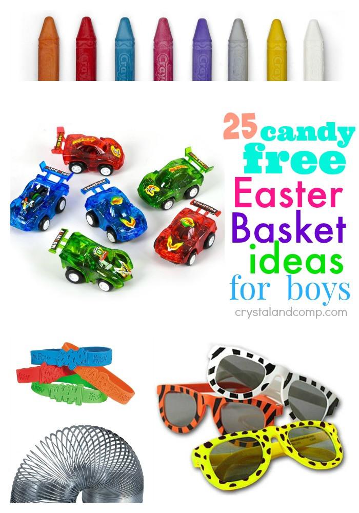 Easter Gift Ideas For Boys  Easter Baskets for Boys