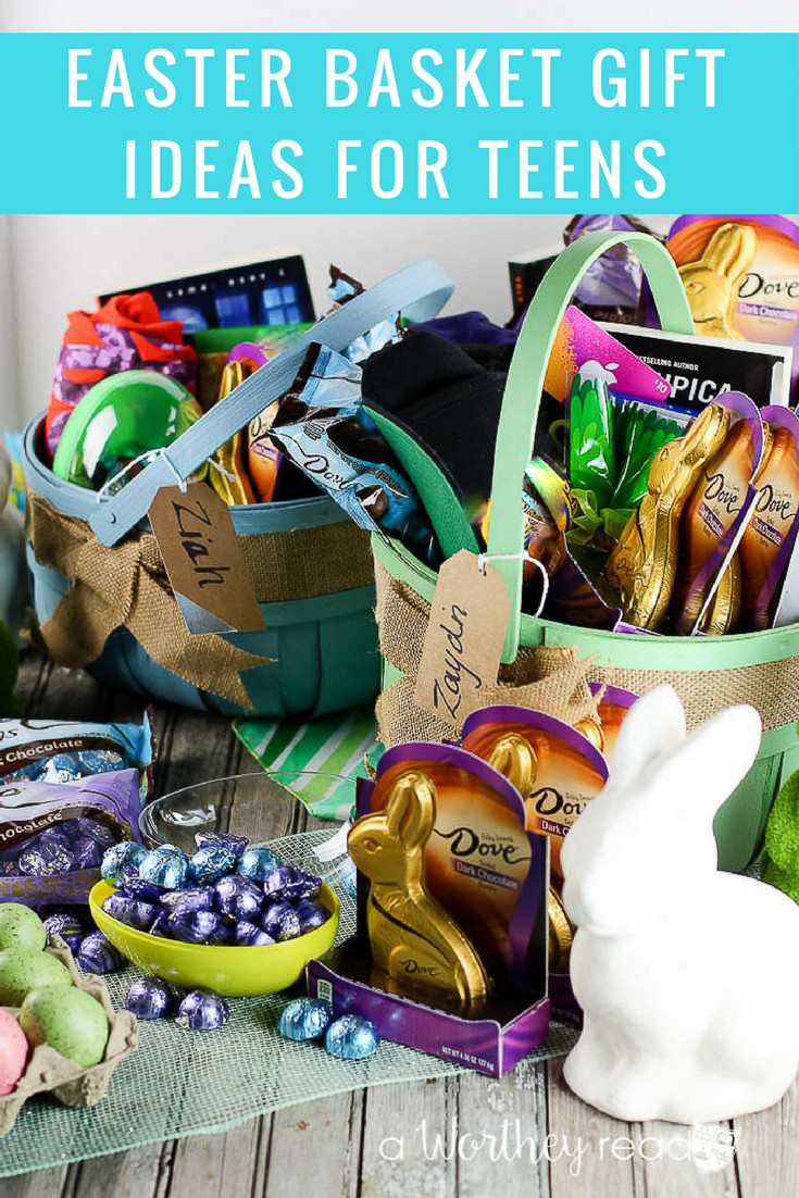 Easter Gift Ideas For Boys  Easter Basket Gift Ideas for Teens This Worthey Life