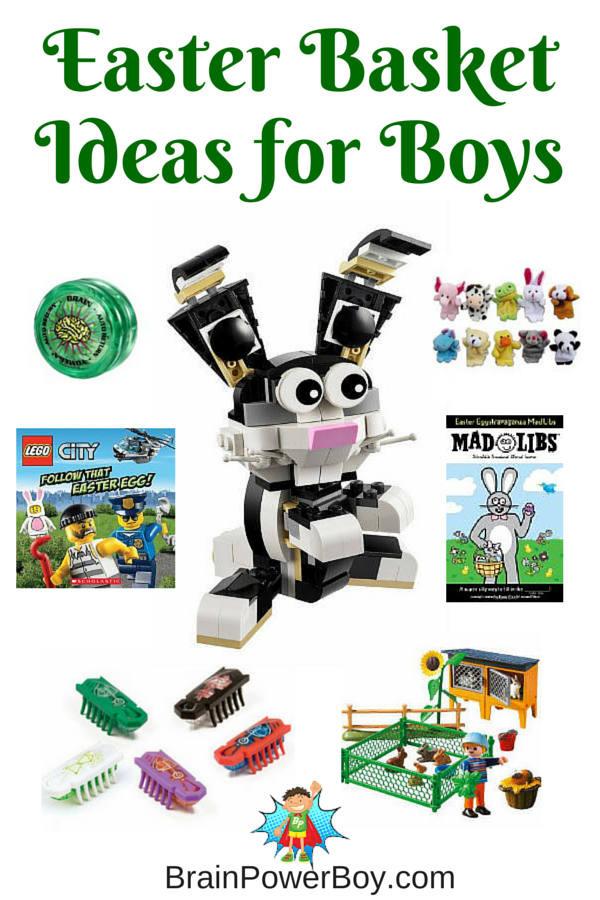 Easter Gift Ideas For Boys  Wonderful Easter Basket Ideas for Boys Fill Their Basket