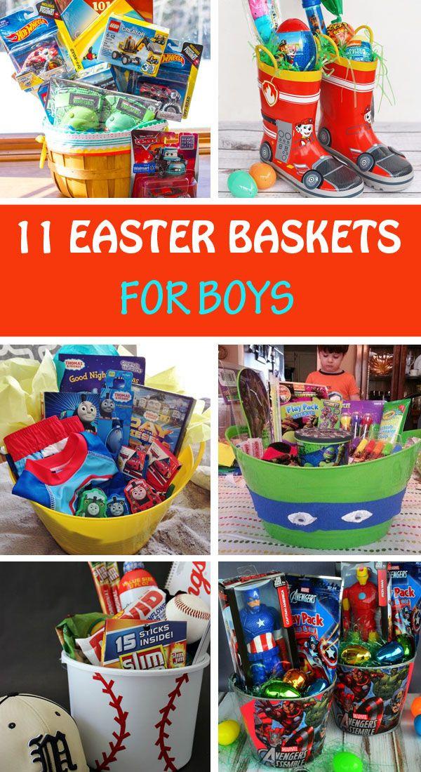 Easter Gift Ideas For Boys  11 Homemade Easter basket ideas for boys