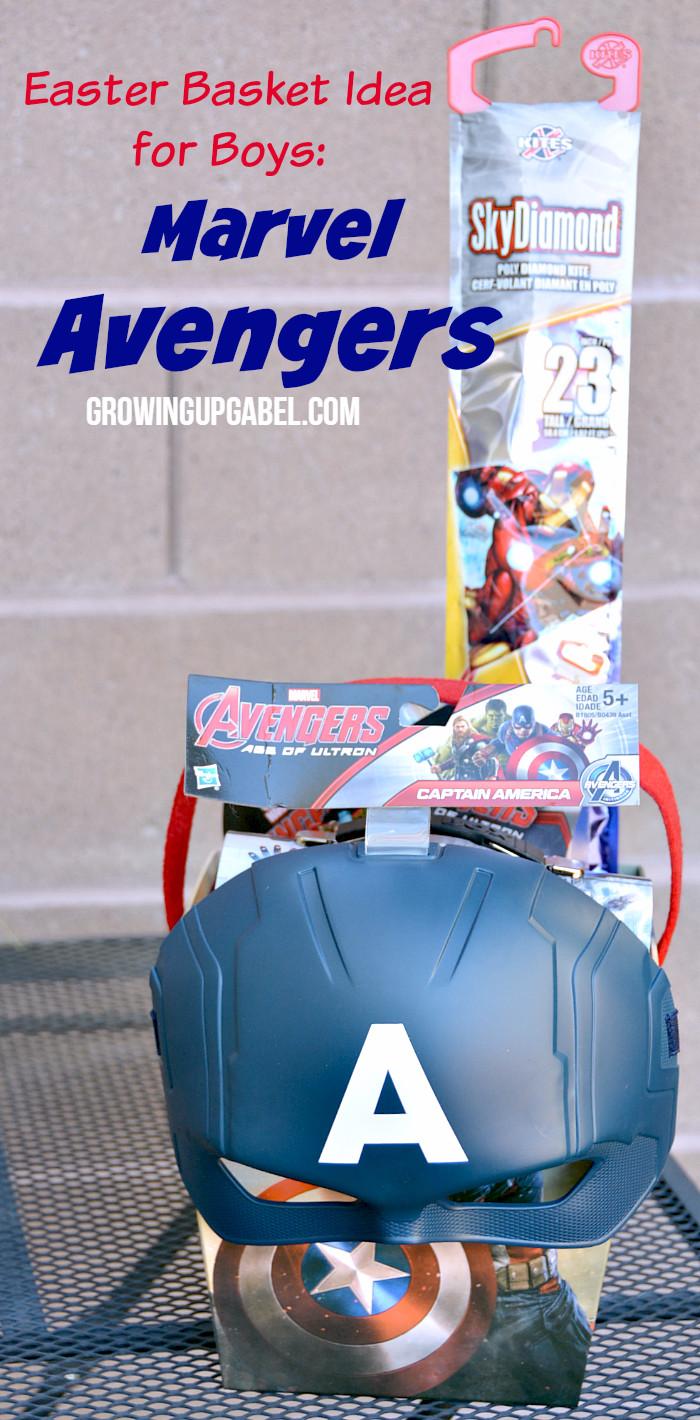 Easter Gift Ideas For Boys  Easter Basket Ideas for Boys Marvel Avengers