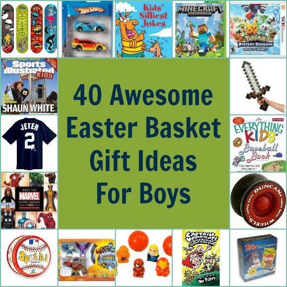 Easter Gift Ideas For Boys  40 Awesome Easter Basket Gift Ideas for Boys Pretty