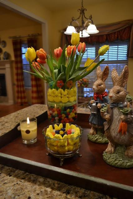 Easter Party Centerpiece Ideas  98 best Spring Easter images on Pinterest