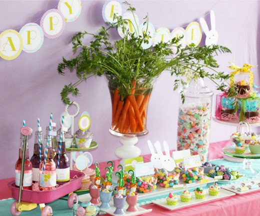 Easter Party Centerpiece Ideas  Beatrix Potter Peter Rabbit Baby Shower