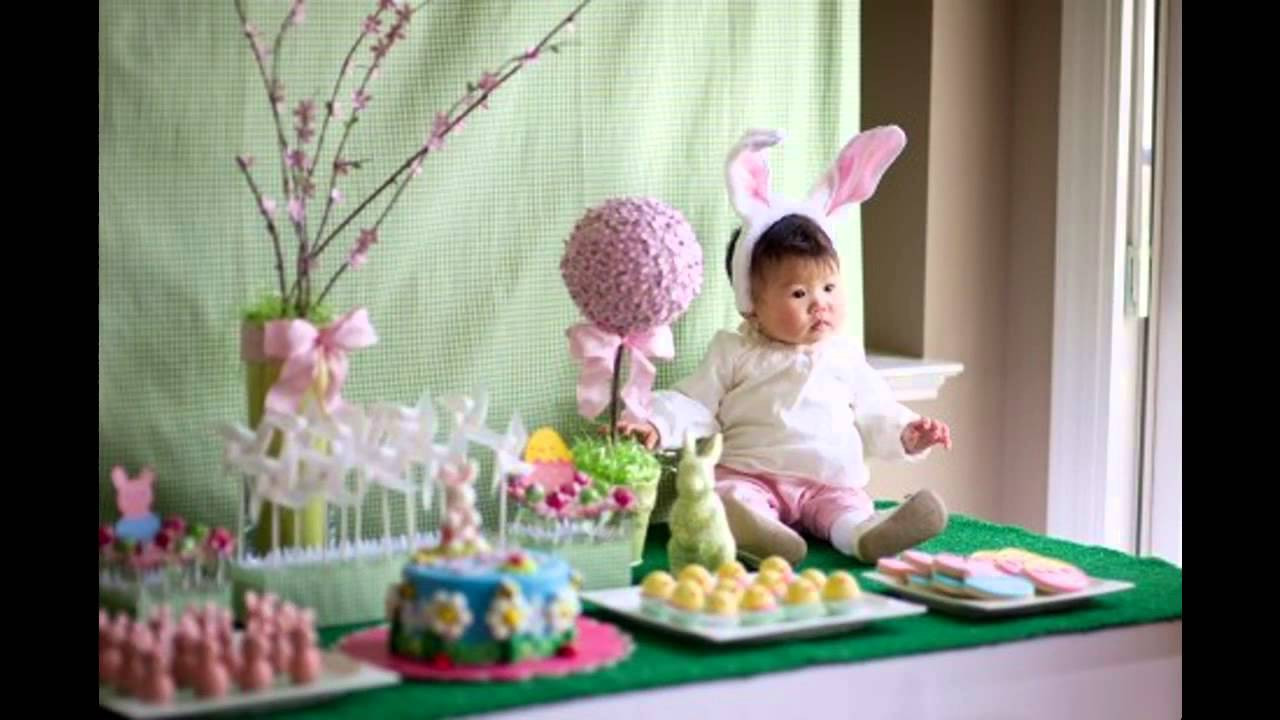 Easter Party Centerpiece Ideas  Easy Easter party decorations ideas