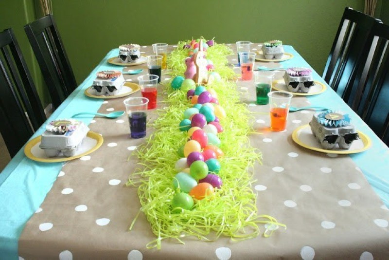 Easter Party Centerpiece Ideas  Simple and Sweet DIY Easter Party Decorations on Love the Day