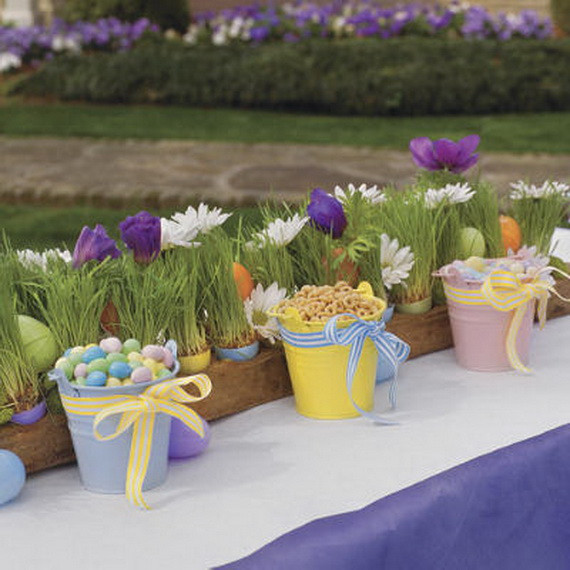 Easter Party Centerpiece Ideas  Exclusive Outdoor Easter decorations family holiday