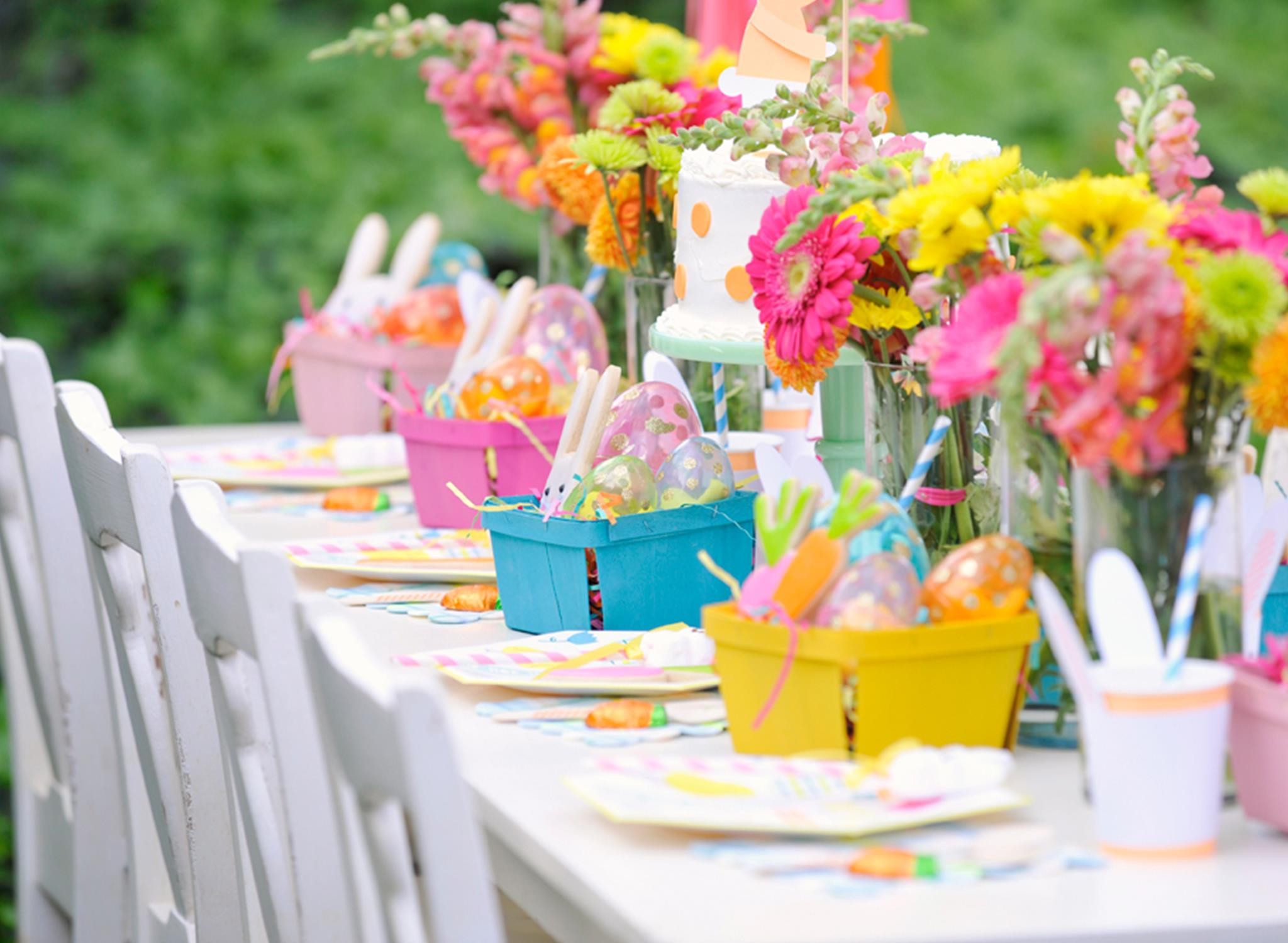 Easter Party Centerpiece Ideas  Plan a Bunny tastic Kids Easter Party Project Nursery