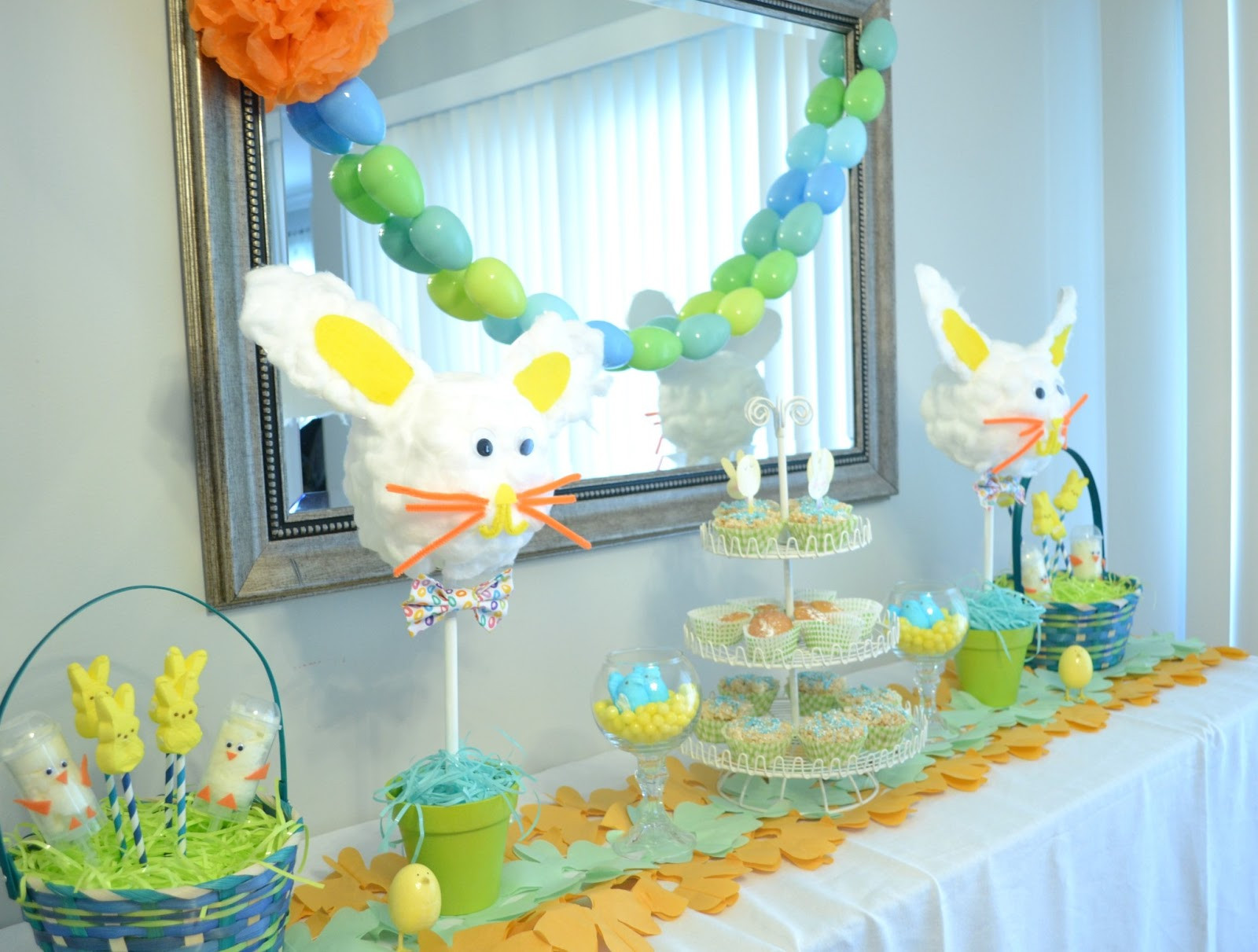 Easter Party Centerpiece Ideas  Easter Party Ideas