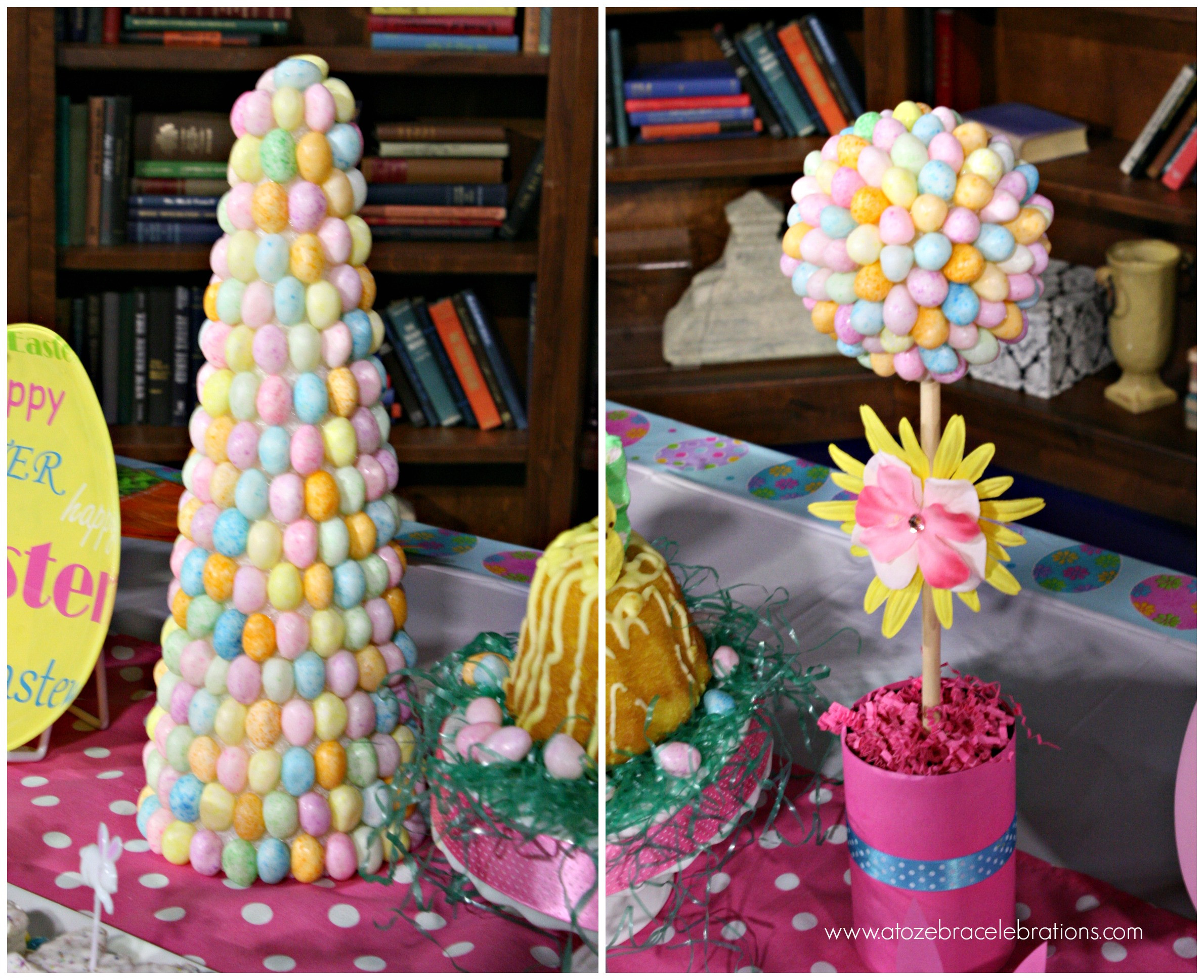 Easter Party Centerpiece Ideas  Easter Party Ideas For Less – A to Zebra Celebrations
