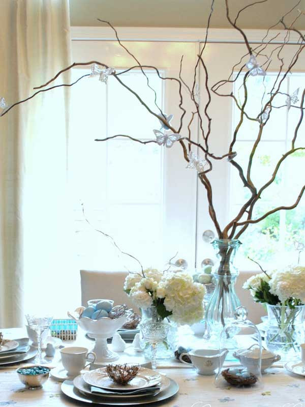 Easter Party Centerpiece Ideas  30 Creative Easy DIY Tablescapes Ideas for Easter