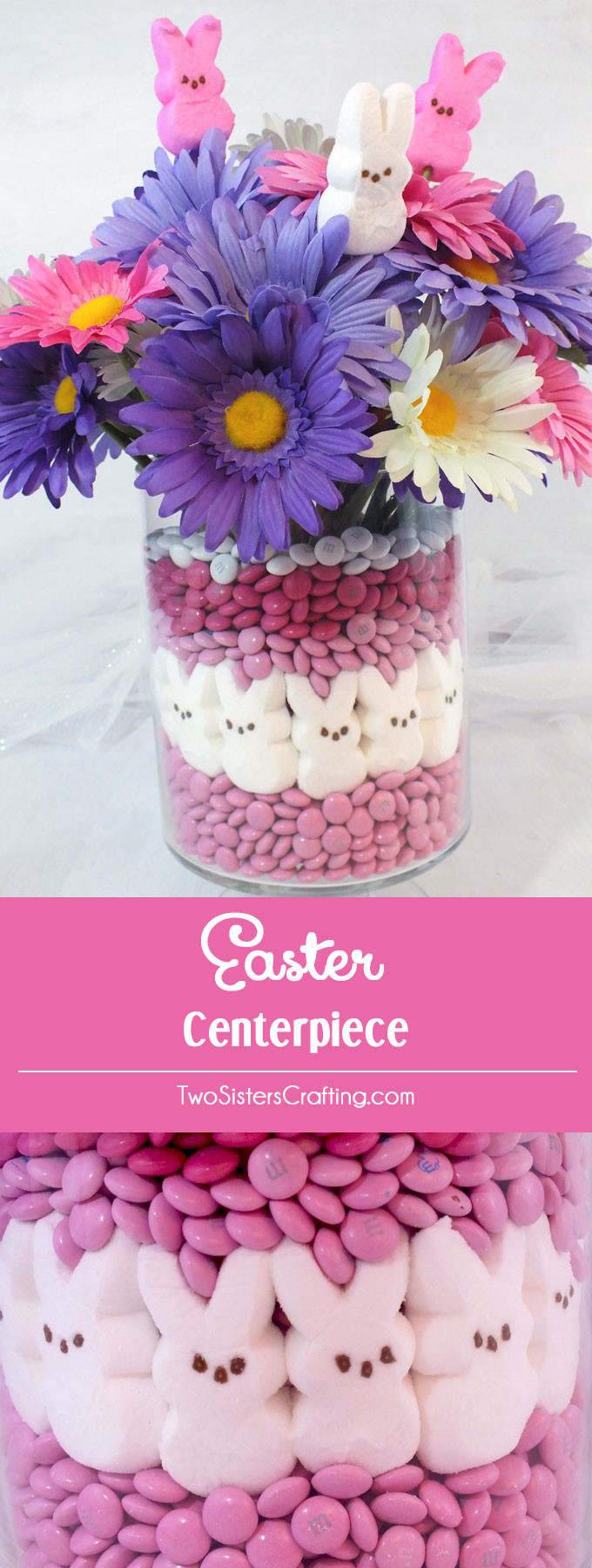 Easter Party Centerpiece Ideas  Easter Centerpiece Two Sisters