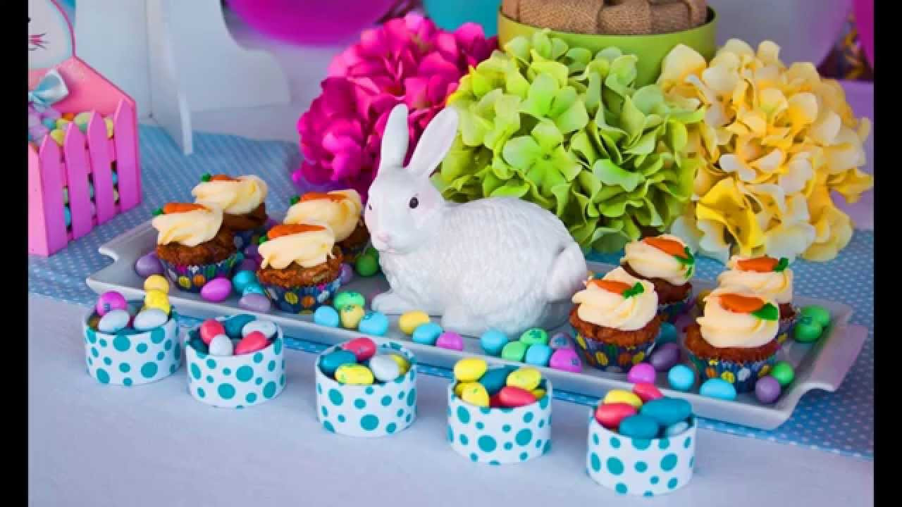 Easter Party Centerpiece Ideas  Easter party decorations at home ideas