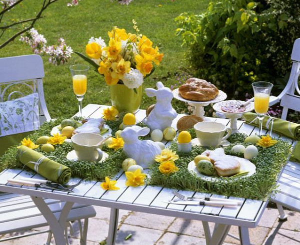 Easter Party Centerpiece Ideas  Outdoor Easter decorations 30 ideas for a special holiday