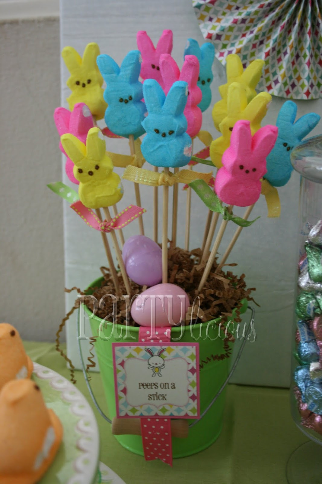 Easter Party Centerpiece Ideas  Partylicious Events PR Easter Egg Hunt